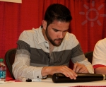 Jaime signing