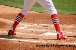 High socks, Peter Bourjos