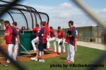 Joe Kelly, Lance Lynn at back fields, Jupiter